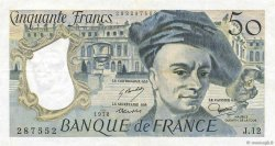 50 Francs QUENTIN DE LA TOUR FRANCE  1978 F.67.03 TTB