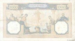 1000 Francs CÉRÈS ET MERCURE type modifié FRANCE  1939 F.38.40 TTB