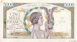 5000 Francs VICTOIRE Impression à plat FRANCE  1940 F.46.18 TB
