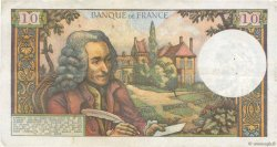 10 Francs VOLTAIRE FRANCE  1965 F.62.12
