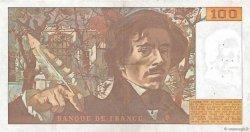 100 Francs DELACROIX modifié FRANCE  1979 F.69.03