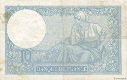 10 Francs MINERVE FRANCE  1937 F.06.18 pr.TTB