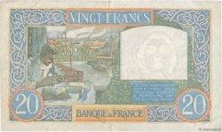 20 Francs SCIENCE ET TRAVAIL FRANCE  1941 F.12.12 SUP