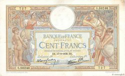 100 Francs LUC OLIVIER MERSON type modifié FRANCE  1938 F.25.13 TTB