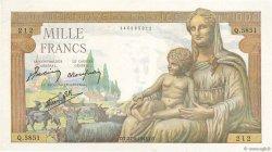 1000 Francs DÉESSE DÉMÉTER FRANCE  1943 F.40.25 SUP