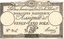 25 Sols FRANCE  1792 Ass.25a TB+
