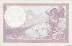 5 Francs VIOLET FRANCE  1933 F.03.17 SUP+