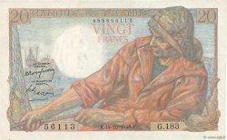 20 Francs PÊCHEUR FRANCE  1948 F.13.13 TTB