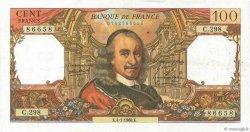 100 Francs CORNEILLE FRANCE  1968 F.65.20 TTB