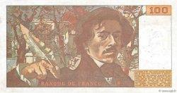 100 Francs DELACROIX modifié FRANCE  1978 F.69.01e pr.TTB