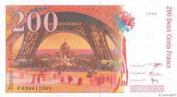 200 Francs EIFFEL FRANCE  1996 F.75.03a pr.SPL