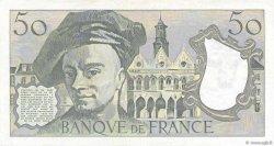 50 Francs QUENTIN DE LA TOUR FRANCE  1982 F.67.08 TTB+
