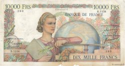 10000 Francs GÉNIE FRANÇAIS FRANCE  1951 F.50.47 pr.TB