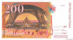 200 Francs EIFFEL FRANCE  1996 F.75.02 SUP+