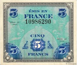 5 Francs DRAPEAU FRANCE  1944 VF.17.01 TTB
