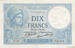 10 Francs MINERVE FRANCE  1931 F.06.15 aXF