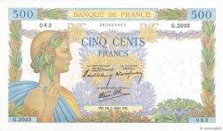 500 Francs LA PAIX FRANCE  1941 F.32.13 pr.SPL