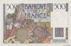 500 Francs CHATEAUBRIAND FRANCE  1945 F.34.03 pr.SPL