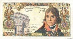 10000 Francs BONAPARTE FRANCE  1957 F.51.10 TB+