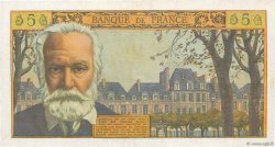 5 Nouveaux Francs VICTOR HUGO FRANCE  1961 F.56.09 TTB