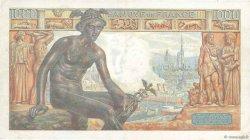 1000 Francs DÉESSE DÉMÉTER FRANCE  1942 F.40.13 pr.SUP