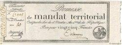 25 Francs avec série FRANCE  1796 Ass.59b SPL