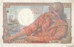 20 Francs PÊCHEUR FRANCE  1948 F.13.13 TTB+