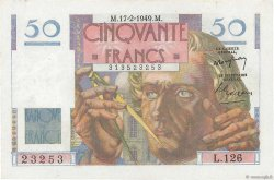 50 Francs LE VERRIER FRANCE  1949 F.20.11 SUP+