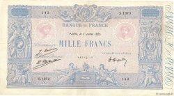 1000 Francs BLEU ET ROSE FRANCE  1925 F.36.41 pr.TTB
