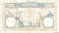 1000 Francs CÉRÈS ET MERCURE type modifié FRANCE  1937 F.38.04 pr.TTB