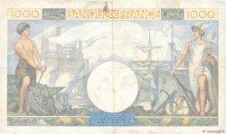 1000 Francs COMMERCE ET INDUSTRIE FRANCE  1940 F.39.02 pr.TTB