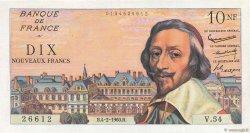 10 Nouveaux Francs RICHELIEU FRANCE  1960 F.57.05 pr.SUP