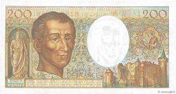 200 Francs MONTESQUIEU FRANCE  1983 F.70.03 SPL+