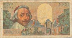 1000 Francs RICHELIEU FRANCE  1957 F.42.25 pr.TB