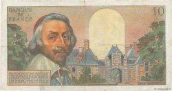10 Nouveaux Francs RICHELIEU FRANCE  1960 F.57.08 TB+