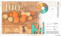 100 Francs CÉZANNE FRANCE  1997 F.74.01 TTB+