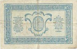 50 Centimes TRÉSORERIE AUX ARMÉES FRANCE  1919 VF.02.03 TB+