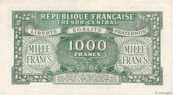 1000 Francs MARIANNE FRANCE  1945 VF.12.01 pr.SUP