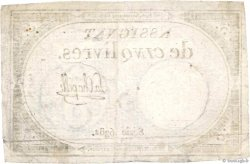 5 Livres FRANCE  1793 Ass.46a TTB+