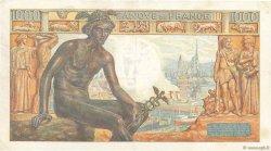 1000 Francs DÉESSE DÉMÉTER FRANCE  1942 F.40.13 TTB