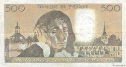500 Francs PASCAL FRANCE  1987 F.71.35 pr.TTB