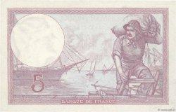 5 Francs VIOLET FRANCE  1933 F.03.17 SUP