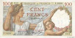 100 Francs SULLY FRANCE  1941 F.26.45 TTB