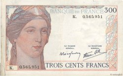 300 Francs FRANCE  1938 F.29.01 pr.TTB