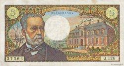 5 Francs PASTEUR FRANCE  1970 F.61.12 pr.TTB