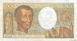 200 Francs MONTESQUIEU FRANCE  1991 F.70.11 TB+