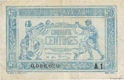 50 Centimes TRÉSORERIE AUX ARMÉES FRANCE  1919 VF.02.10 TB