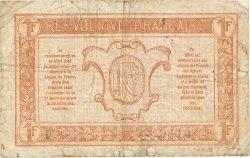 1 Franc TRÉSORERIE AUX ARMÉES FRANCE  1917 VF.03.02 pr.TB