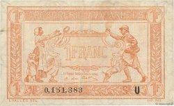 1 Franc TRÉSORERIE AUX ARMÉES FRANCE  1919 VF.04.08 TB+