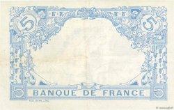 5 Francs BLEU FRANCE  1915 F.02.29 pr.SUP